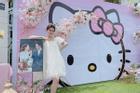 Cô dâu An Giang trang trí tiệc cưới ngập tràn sắc hồng mèo Hello Kitty