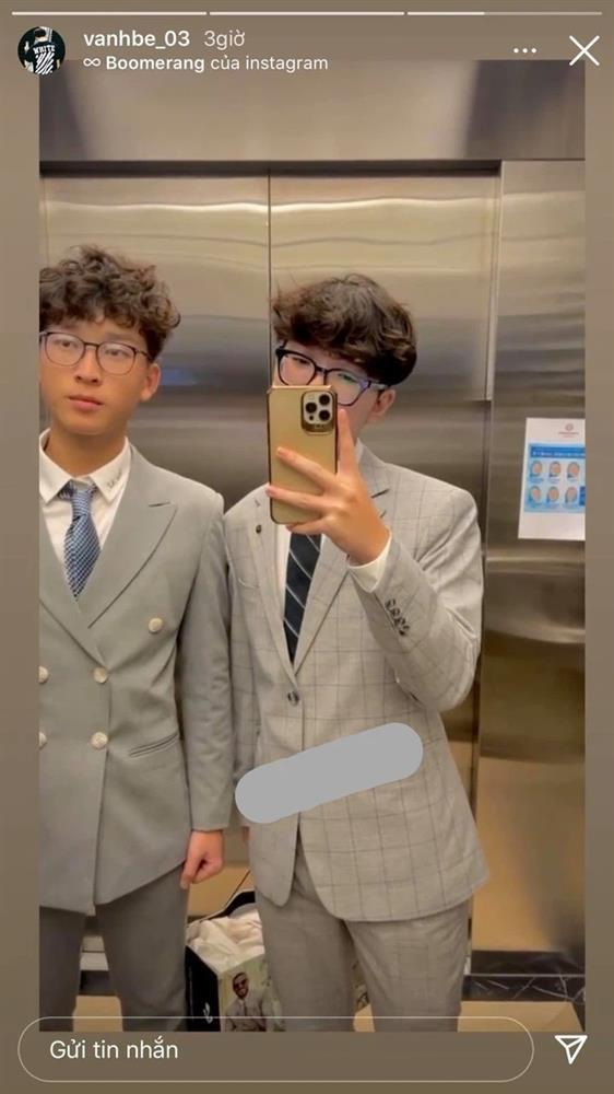 Em trai Á hậu Huyền My lại giật spotlight, diện vest bảnh tỏn đúng chuẩn soái ca-1