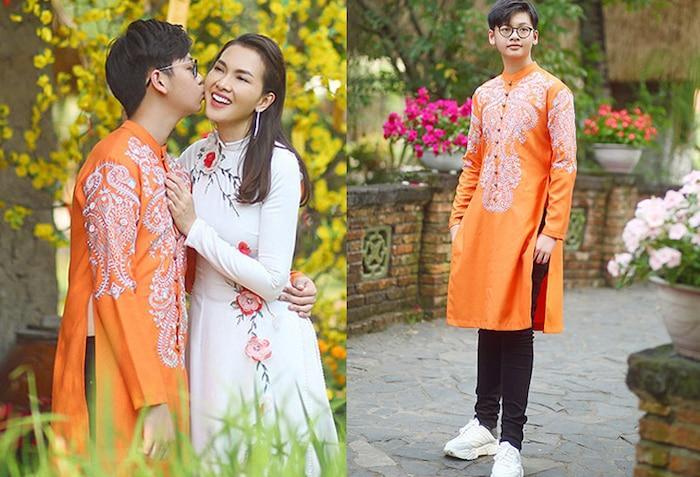 Chiều cao khác nào hoa hậu của con Quyền Linh, Việt Hương, Hồng Đào-7