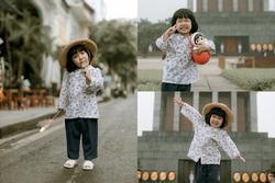 Bộ ảnh 'Em bé Hà Nội' của em bé 3 tuổi khiến nhiều 8x, 9x nhớ tuổi thơ dữ dội