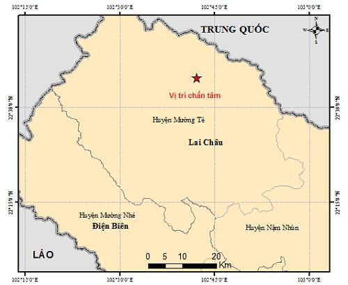 Có ít nhất 4 trận động đất xảy ra liên tiếp chỉ trong 2 ngày-3