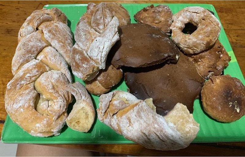 Gái đoảng làm bánh mì nho mà như ve chó, nhìn thôi cũng ngứa toàn thân-9