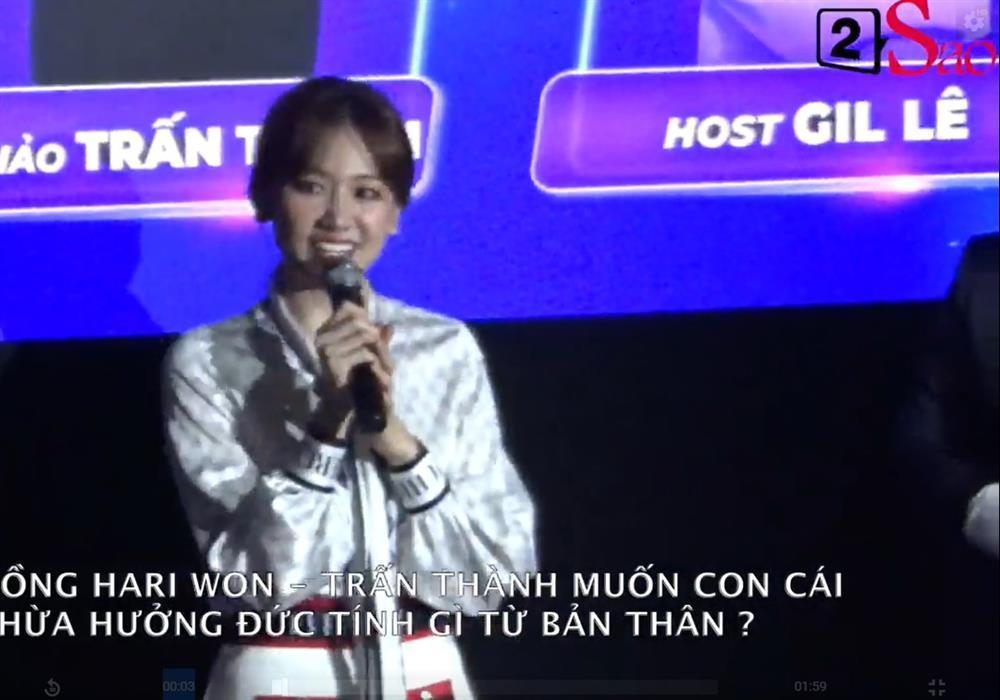 Hari Won: Tôi muốn con mình có cái đầu giống bố-2