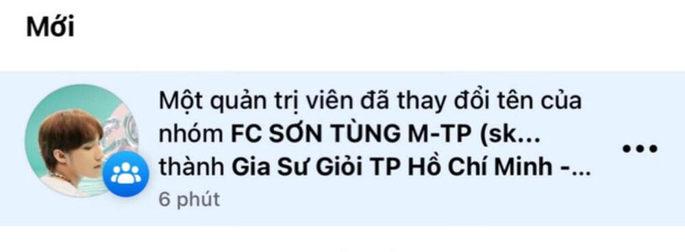 FC Sơn Tùng 70k thành viên tự nhiên bị đổi tên, nghi bán lại kiếm lời-4