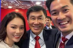 Linh Rin khoe ảnh bố chồng tỷ phú: Quá nhiều nhan sắc và tiền bạc trong 1 bức ảnh!