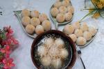 Chị em trổ tài làm bánh trôi, bánh chay đẹp không nỡ ăn ngày Tết Hàn Thực-11