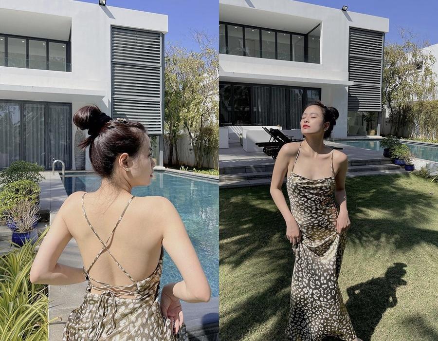 Nắng cháy da, sao Việt vẫn diện váy áo hở bạo khoe lưng trần-1