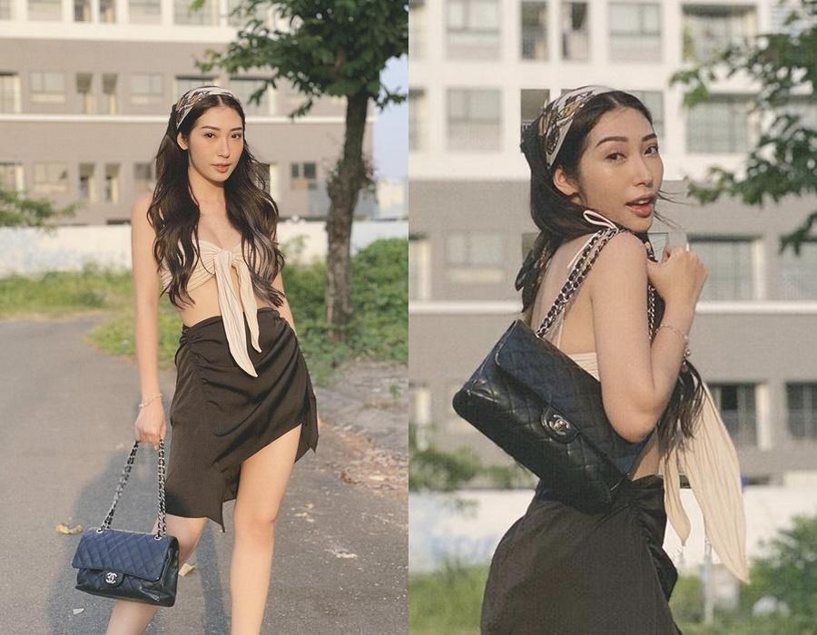 Nắng cháy da, sao Việt vẫn diện váy áo hở bạo khoe lưng trần-9