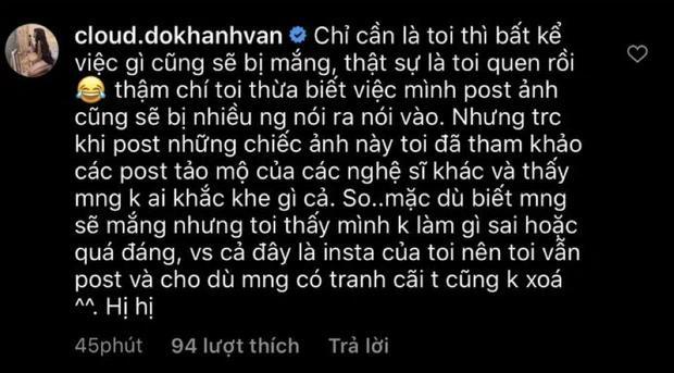 Khánh Vân tạo dáng bên bia mộ người thân bị dân mạng mắng té tát-4