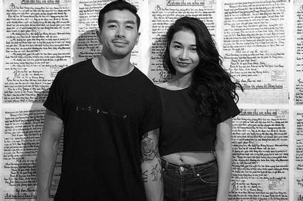 Em gái Hoàng Thùy thông báo chia tay chàng Việt kiều 'Người Ấy Là Ai'