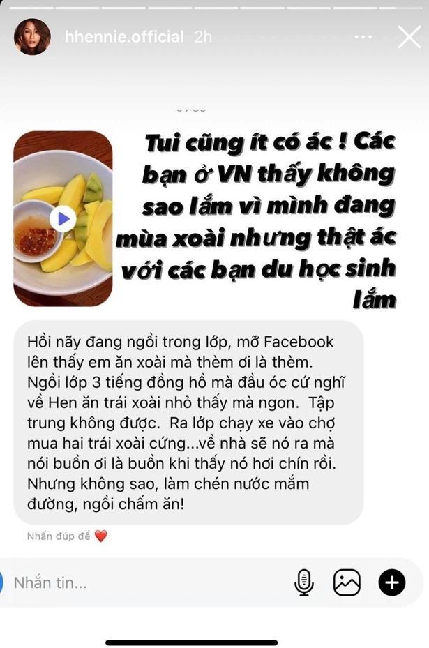H'Hen Niê khoe một món tủ của người Việt, fan học sinh vào đáp cưng xỉu-1