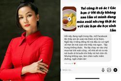 H'Hen Niê khoe một món 'tủ' của người Việt, fan học sinh vào đáp cưng xỉu