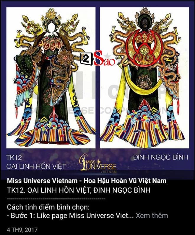 Miss International Queen Việt Nam ăn cắp mẫu Miss Universe?-4