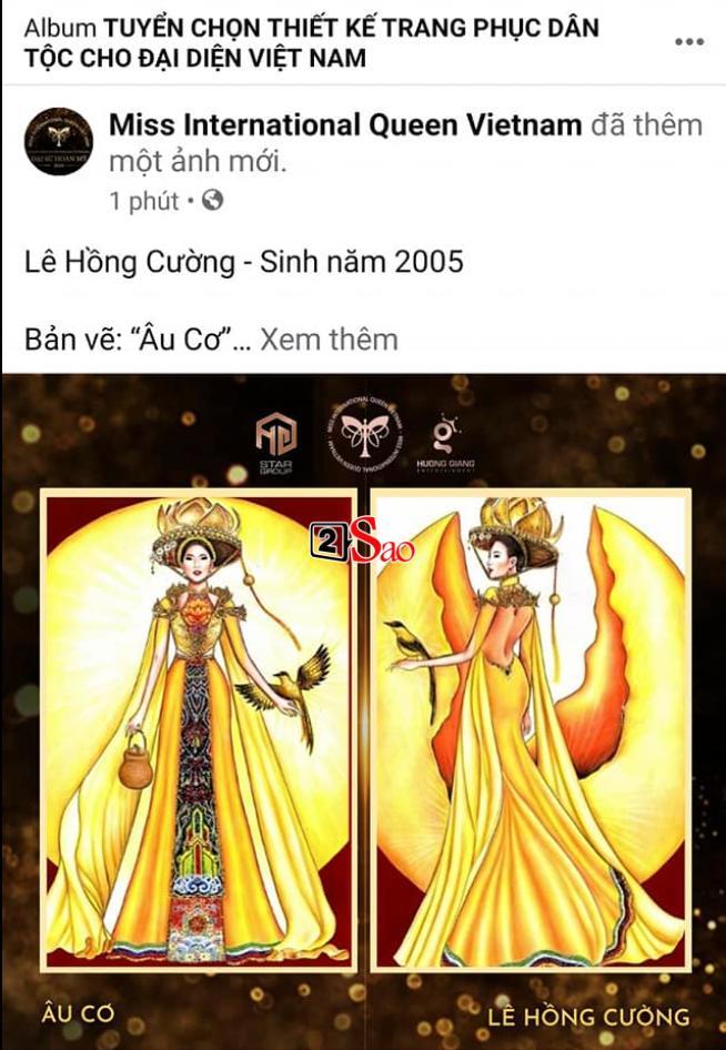 Miss International Queen Việt Nam ăn cắp mẫu Miss Universe?-1