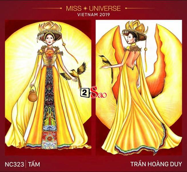 Miss International Queen Việt Nam ăn cắp mẫu Miss Universe?-2