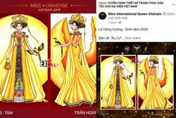 Miss International Queen Việt Nam 'ăn cắp' mẫu Miss Universe?