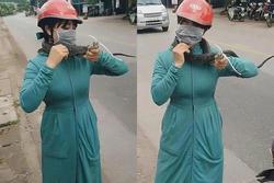 Nữ ninja xuất chiêu tóm gọn bé Na gần 2 mét
