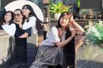 Bố Khánh Vân xui con gái 'Múc' những kẻ chỉ trích ảnh chụp bên mộ