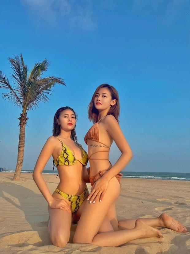 Lan Ngọc diện bikini ưỡn ẹo cong cớn đến mức đau xương khớp-4