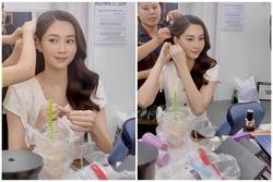 Ekip 'bóc' nhan sắc của Hoa hậu Đặng Thu Thảo qua camera thường
