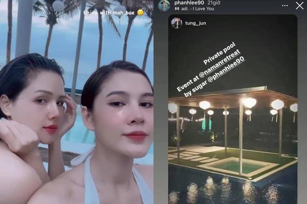 Ai cũng ước có người bạn lấy chồng giàu như Phanh Lee: Được ăn ngon, ở resort đẹp-4