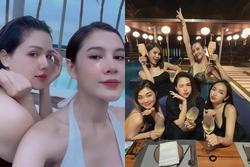 Ai cũng ước có người bạn lấy chồng giàu như Phanh Lee: Được ăn ngon, ở resort đẹp