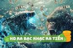 Phim về con khỉ và cá sấu Godzilla vs.Kong chiếm 'chóp' phòng vé