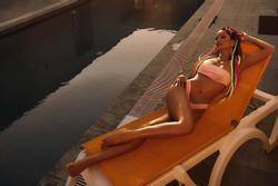 H'Hen Niê chào hè bằng bộ ảnh bikini khoe body 'đồng hồ cát' cực nóng bỏng
