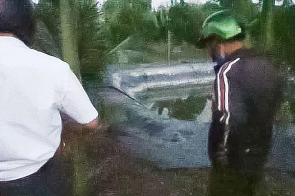 3 cháu nhỏ chết thương tâm dưới ao nước tưới cây ở Đồng Nai-1