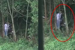 Lan truyền clip hơn 1 phút cảnh đôi trẻ vô tư 'mây mưa' tại rừng phòng hộ