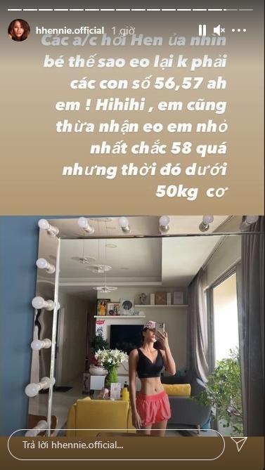 Số đo eo HHen Niê: Nhỏ thì có nhỏ nhưng chạy dài mới bằng Ngọc Trinh-2