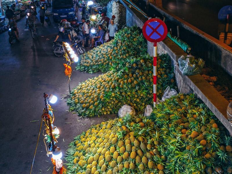 Bộ ảnh: Khám phá Hà Nội về đêm với chợ Long Biên không ngủ-2