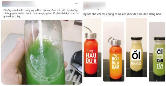 Uống nước rau củ trừ bữa giải độc cơ thể: Có hiệu quả như lời đồn?-1