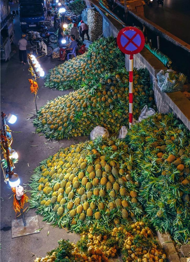 Bộ ảnh: Khám phá Hà Nội về đêm với chợ Long Biên không ngủ-7