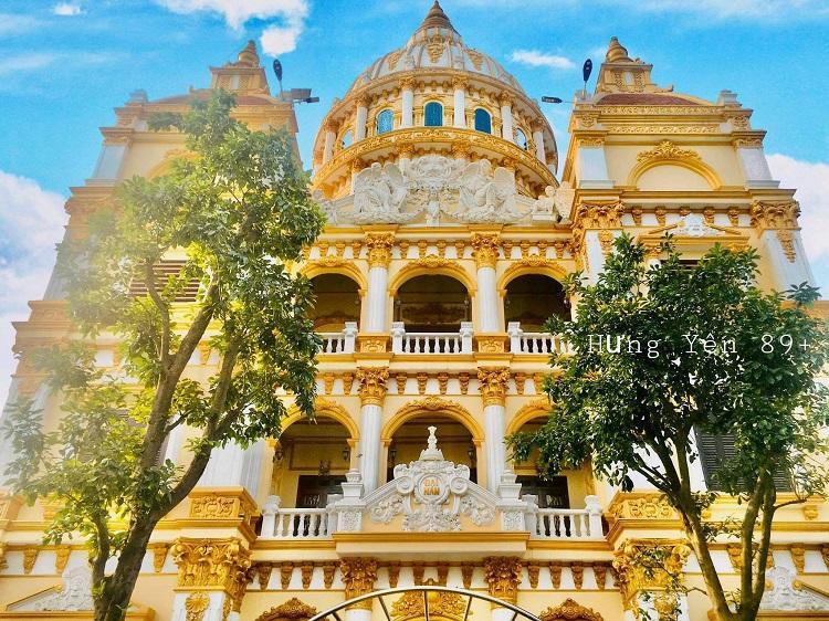 Cận cảnh tòa lâu đài choáng ngợp, chủ nhân mới 56 tuổi ở Hưng Yên-2