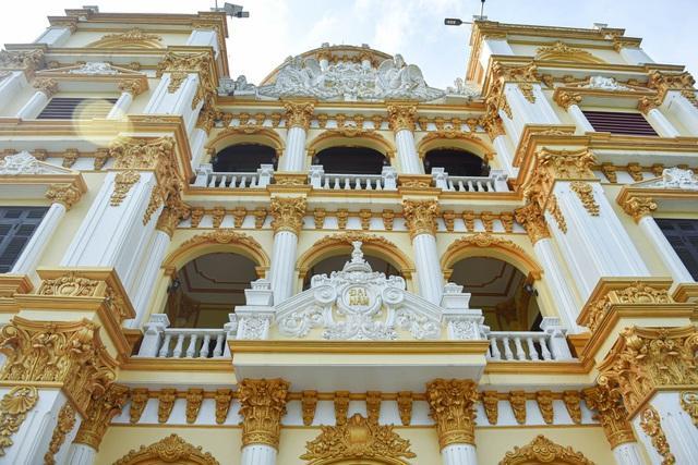 Cận cảnh tòa lâu đài choáng ngợp, chủ nhân mới 56 tuổi ở Hưng Yên-9