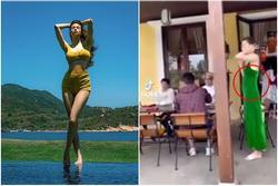 Hồ Ngọc Hà lộ vòng 2 nhấp nhô sau sinh: Eo siêu bé hóa ra nhờ photoshop?