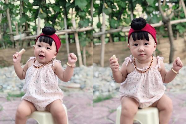 Con gái Phan Văn Đức thay đổi thế nào sau 8 tháng chào đời?-11