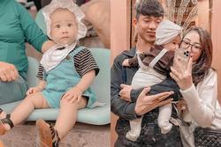 Con gái Phan Văn Đức thay đổi thế nào sau 8 tháng chào đời?