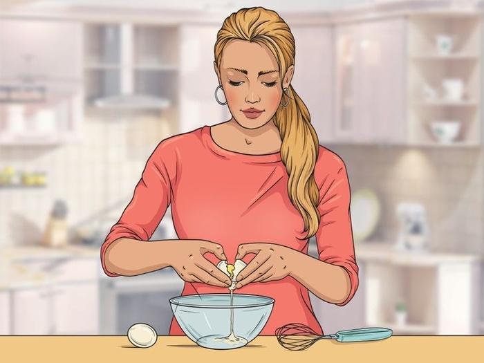 10 nguyên liệu tự nhiên hô biến tóc mỏng dính thành dày lại mềm mượt-1