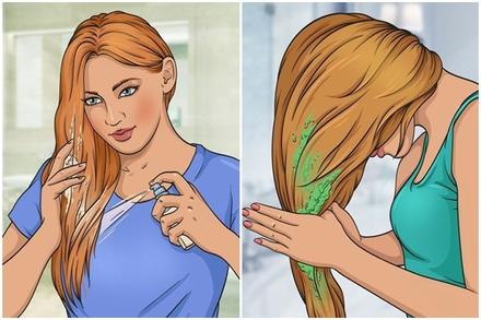 10 nguyên liệu tự nhiên hô biến tóc mỏng dính thành dày lại mềm mượt