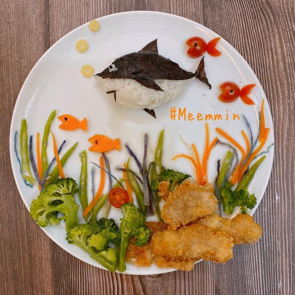 Mẹ 9x với những đĩa cơm đẹp mắt giúp con trai ăn thun thút-2