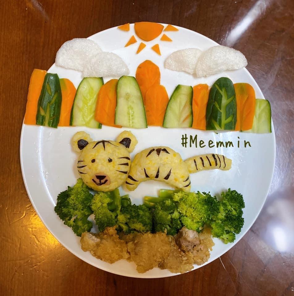 Mẹ 9x với những đĩa cơm đẹp mắt giúp con trai ăn thun thút-4