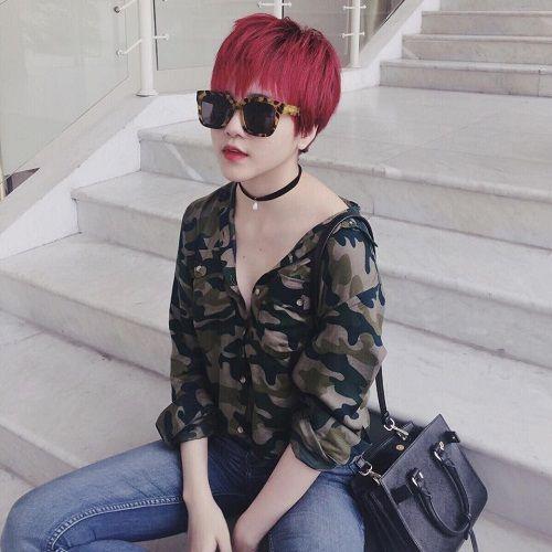 Thiều Bảo Trâm bất ngờ xuống tóc giống hệt trend Hải Tú ưa thích-6