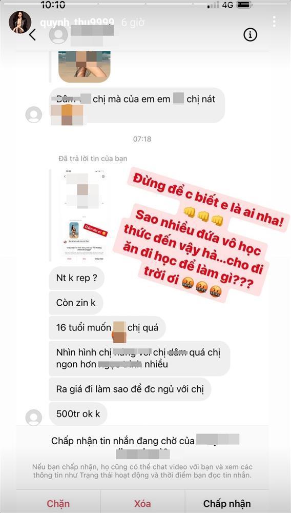 Quỳnh Thư bị thanh niên mới lớn ngã giá qua đêm tục tĩu-3