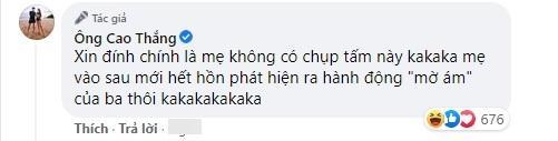 Ông Cao Thắng bị nghi lươn lẹo khi khoe ảnh mẹ vắng nhà-8