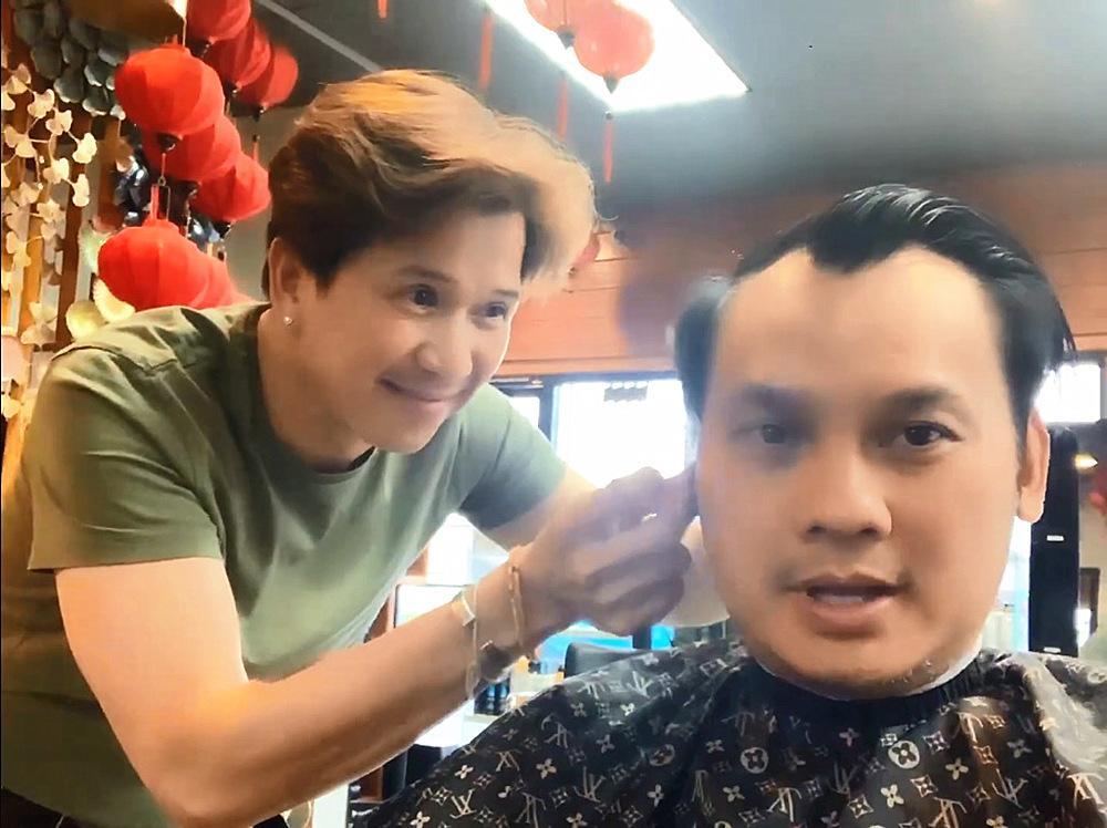 Ca sĩ Vân Trường Chân tình tuổi 51 độc thân, làm thợ cắt tóc ở Mỹ-1