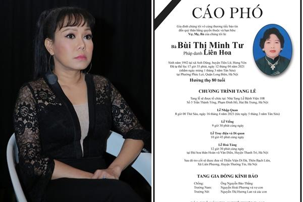 Tang lễ mẹ chồng Việt Hương: Xuân Bắc tới viếng, nghệ sĩ hải ngoại gửi vòng hoa-8