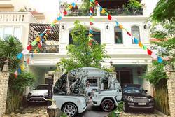 Ngắm biệt thự 'chật không còn chỗ để xe' của Minh Nhựa và Mina Phạm