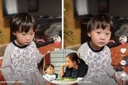 Tranh cãi Quỳnh Trần JP xưng 'mày - tao' chỉ vì bé Sa mải chơi quên đồ